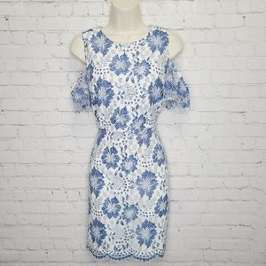 French Connection Lace Cocktail Dress